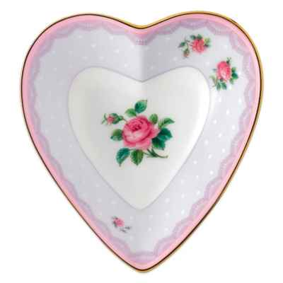 Royal Albert Candy Love Lilac Heart Tray