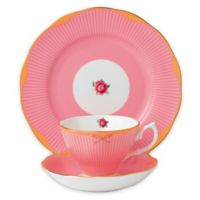 Royal Albert Candy Sweet Stripe 3-Piece Place Setting