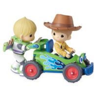 """Precious Moments® LED """"You've Got a Friend in Me"""" Woody and Buzz Musical Figurine"""