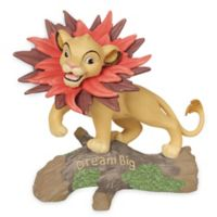 "Precious Moments® Disney® ""Dream Big"" Simba with Leaf Mane Figurine"