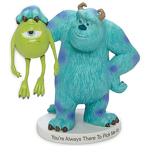 Precious momentsr disneyr quotyou39re always there to pick me for Monsters inc bathroom scene