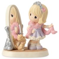 Precious Moments® I'm So Fancy Girl Looking at Mirror Figurine