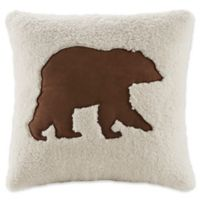 Woolrich® Hadley Plaid Berber 18-Inch by 18-Inch Decorative Pillow