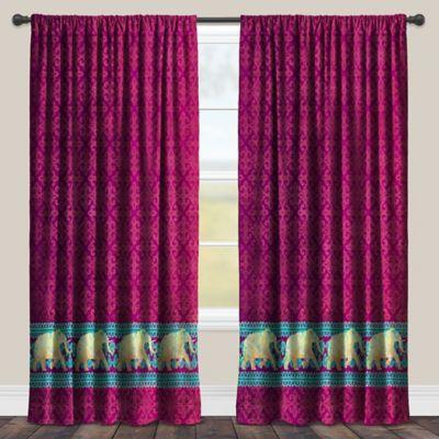 buy purple window treatments from bed bath & beyond