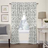 Waverly Charmed Life 63-Inch Rod Pocket Window Curtain Panel in Onyx