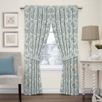 Waverly Charmed Life 63-Inch Rod Pocket Window Curtain Panel in Cornflower