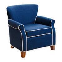 Abbyson Living Jackie Mini Chair in Navy