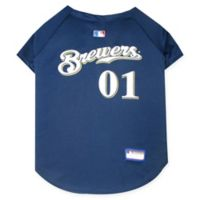 MLB Milwaukee Brewers Pet Jersey