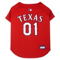 MLB Texas Rangers Pet Jersey