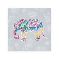 Mi Zone Elly the Elephant Gel-Coated Canvas Art Print