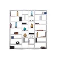 Tema Valsa 2012-003 Shelving Unit Bookcase in White