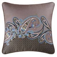 Nadia European Pillow Sham in Brown