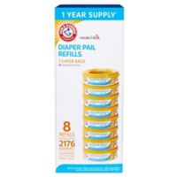 Arm & Hammer™ 8-pack Diaper Pail Refill Rings