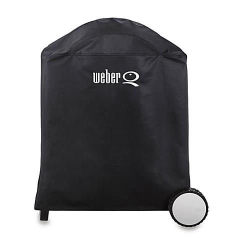 weber q premium vinyl grill cover for the weber q 200. Black Bedroom Furniture Sets. Home Design Ideas