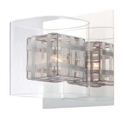 George Kovacs Jewel Box 1 Light Bath With Chrome Finish