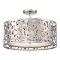 George Kovacs® Layover 2-Light Semi-Flush Mount with Chrome Finish