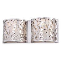 George Kovacs® Layover 2-Light Bath Light with Chrome Finish