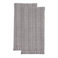 Terra Woven Lyon Napkins in Grey (Set of 2)