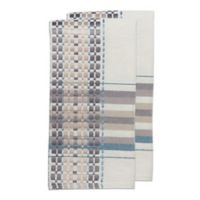 Terra Woven French Picnic Napkins in Blue (Set of 2)