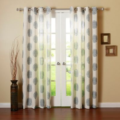 Curtains Ideas brown linen curtains : Buy Linen Grommet Panel from Bed Bath & Beyond
