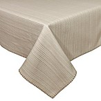 Terra Woven Lyon 60-Inch x 84-Inch Oblong Tablecloth in Sand