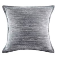 KAS ROOM Arlo European Pillow Sham in Dark Grey