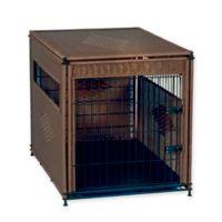 Wicker Extra Large Pet Residence in Dark Brown