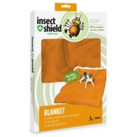 Insect Shield® Large Blanket in Carrot