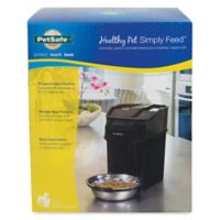 Healthy Pet™ 12-Meal Automatic Feeder in Black