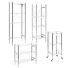 Exceptional Empire Bathroom Shelving Unit In Chrome