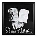 "Occasions Clove Shadowbox ""Better Together"" in Black"