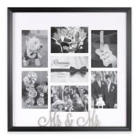 Occasions Clove Mr and Mr Collage Frame in Black