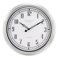 Equity Indoor/Outdoor Wall Clock
