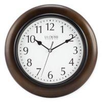 La Crosse Technology® Round Wood Wall Clock