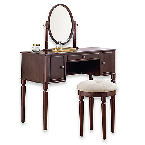 Bella vanity and stool set bed bath beyond - Bed bath and beyond bathroom vanity ...