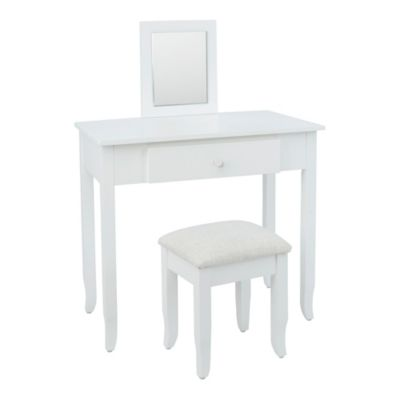 Cheyenne Industries Olivia Kids Vanity Set in White  sc 1 st  Bed Bath u0026 Beyond & Buy White Vanity Stool for Bathroom from Bed Bath u0026 Beyond islam-shia.org