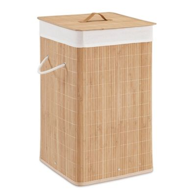 Bathroom laundry hampers