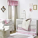 The Peanut Shell® Chevron 4-Piece Crib Set in Gold/Pink