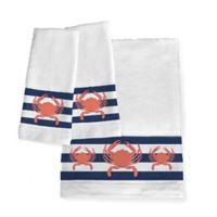 Laural Home® Crab Stripe Bath Towel