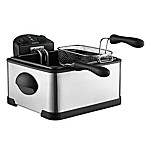 Gourmia® Tri-Basket 4.2 qt. Electric Deep Fryer