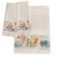 Laurel Home® Oceana Hand Towels (Set of 2)