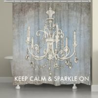 Laural Home® Luxurious Lights Shower Curtain