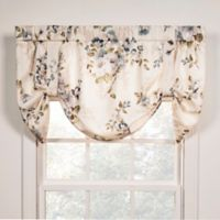 Chatsworth Tie-Up Window Valance in Blue