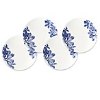 Caskata Arbor Blue Canapé Plates (Set of 4)