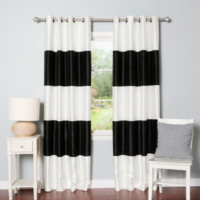 Buy Faux Silk Curtains from Bed Bath & Beyond