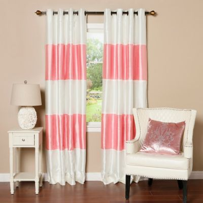 Buy Pink Curtain Panels from Bed Bath & Beyond