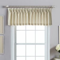 Spellbound Pinch-Pleat Backtab Tail Valance in Champagne