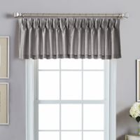 Spellbound Pinch-Pleat Backtab Valance in Pewter