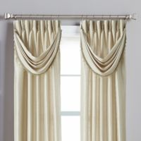 Spellbound Pinch-Pleat Crescent Valance in Champagne