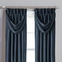 Spellbound Pinch-Pleat Crescent Valance in Indigo